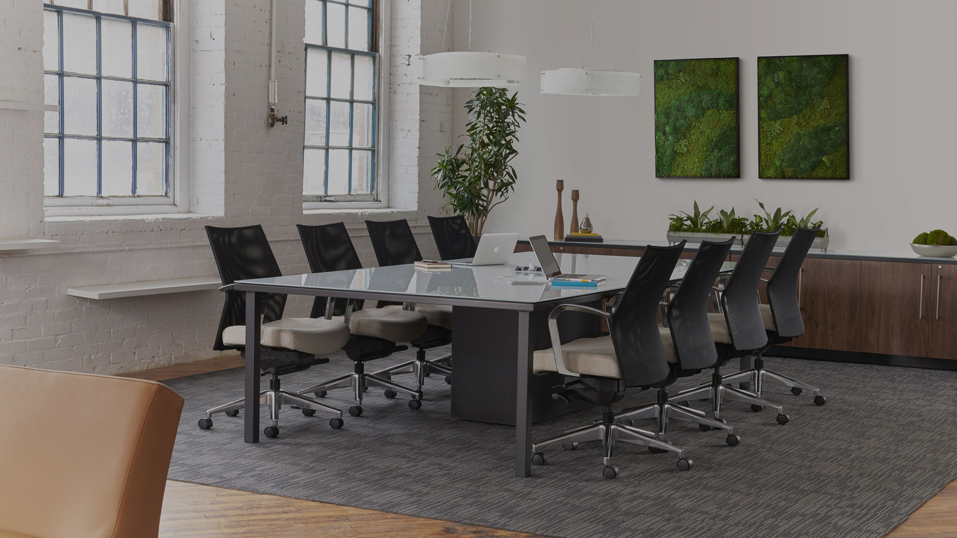 Trendway Intrinsic Conference Table with Sketch Seating